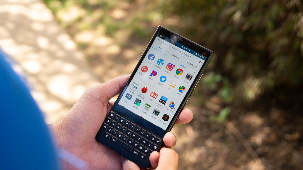 BlackBerry KEY2 goes on pre-order in Europe, prices start at €650
