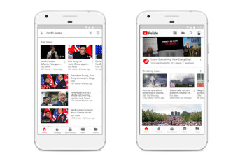 Google wants you to turn to YouTube for breaking news