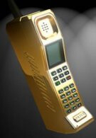 Prive retro brick phone gets the midas touch