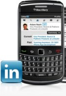LinkedIn app for BlackBerry gets its first update already