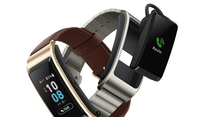 Huawei TalkBand B5 wearable with pop-out Bluetooth headset announced