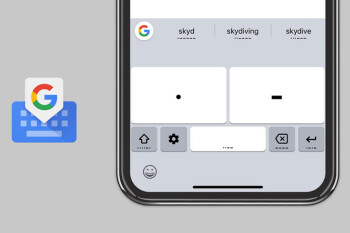 Gboard for iOS gets updated with Morse code to help people with disabilities