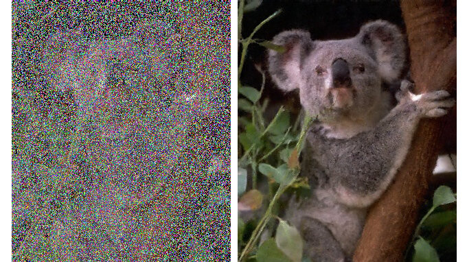 Nvidia's new AI fixes noisy photos in milliseconds with the help of deep learning and a pinch of magic