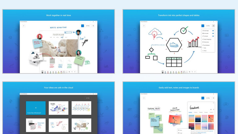 Microsoft Whiteboard app coming soon to iPhones and iPads