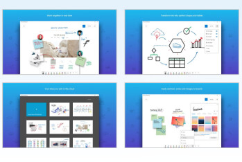 Microsoft announces its Whiteboard app is finally out of beta and coming to iOS
