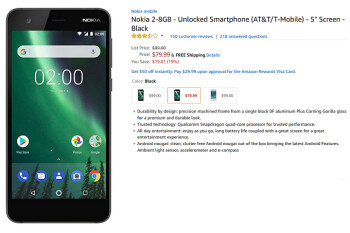 Grab the Nokia 2 for only $79.99 at Amazon and save 19%