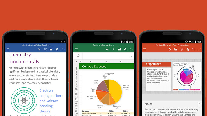 Office for Android and iOS get a slew of new features in the latest update