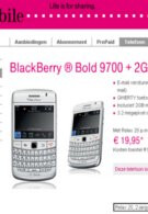 T-Mobile Netherlands lands the BlackBeryy Bold 9700 in white
