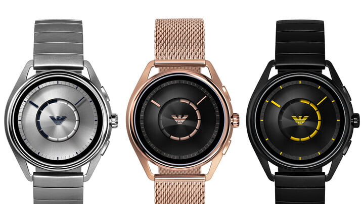 New Emporio Armani smartwatch arrives with Wear OS, GPS, and NFC payments