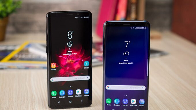 Take up to $400 off the unlocked Samsung Galaxy S9/S9+ with trade, and get a free 64GB microSD card