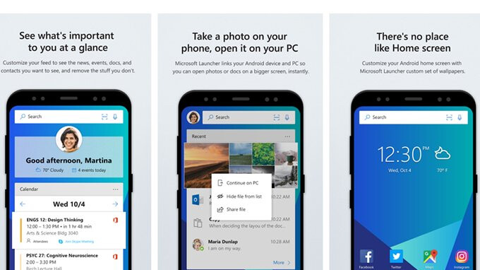 Microsoft Launcher upcoming update to add custom app icon and folder gestures