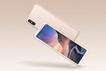 Xiaomi Mi Max 3 with 18:9 display, dual-camera setup appears in official renders