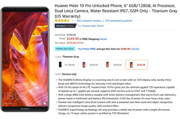 Hours left to save $300 on the unlocked Samsung Galaxy Note 8 and LG V35 ThinQ from Amazon