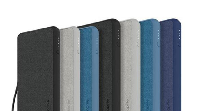 Mophie's new power banks for the Apple iPhone, iPad and AirPods charge up with a Lightning cable