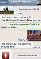 WhatsApp allows for BlackBerry-iPhone messaging like BBM