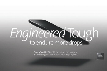 Gorilla Glass 6 can help your phone's display survive up to 15 drops from as high as 3 feet