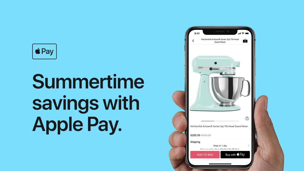 Apple Pay Summertime promo kicks off with discounts on StubHub, Fandango, Groupon, more