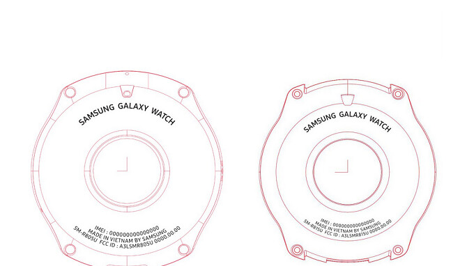 Larger Samsung Galaxy Watch with 1.3-inch screen vists the FCC