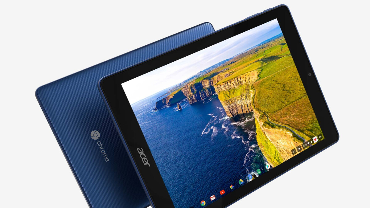 The world's first Chrome OS tablet is widely available in the US at last