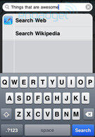 Spotlight search now more efficient with iPhone OS 4