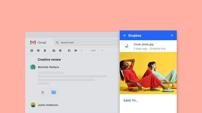 Dropbox add-on for Gmail launched on Android, iOS version coming soon