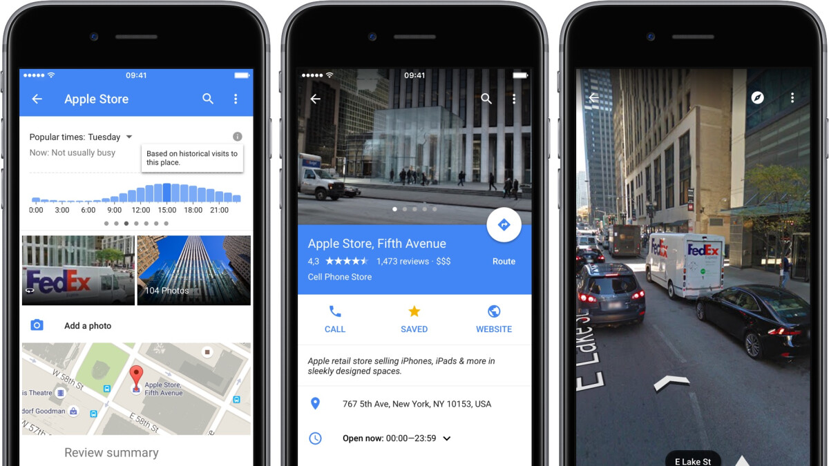 Google Street View updated with iPhone X support, more