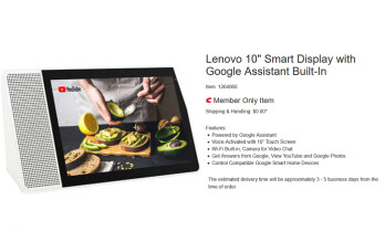 Save $50 on the 10-inch Lenovo Smart Display at Costco (UPDATE)