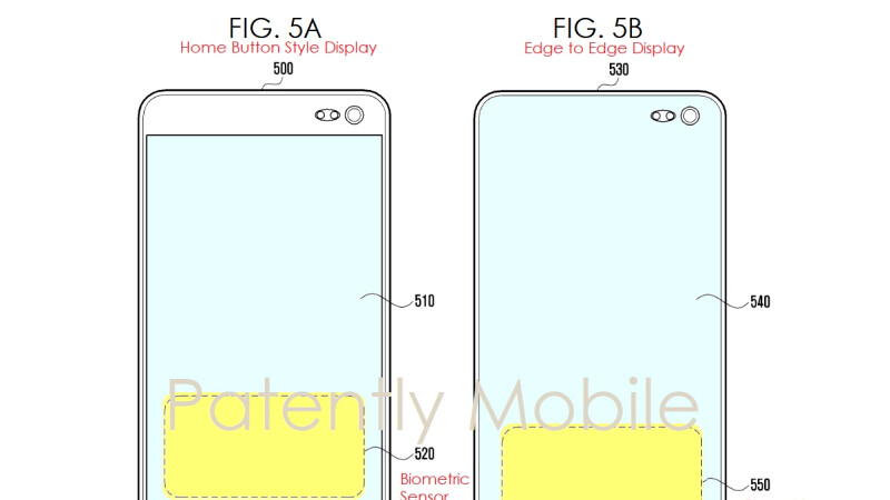 New Samsung patent shows how one of the S10's main new features will work