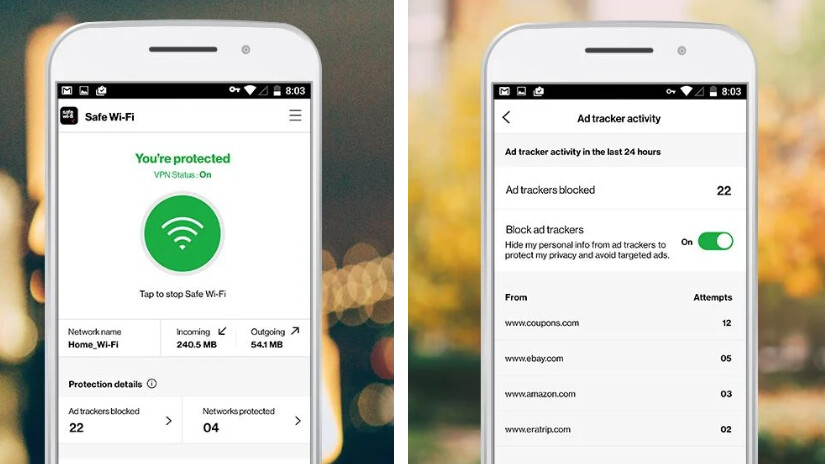 Verizon offers secured Wi-Fi access with new VPN app