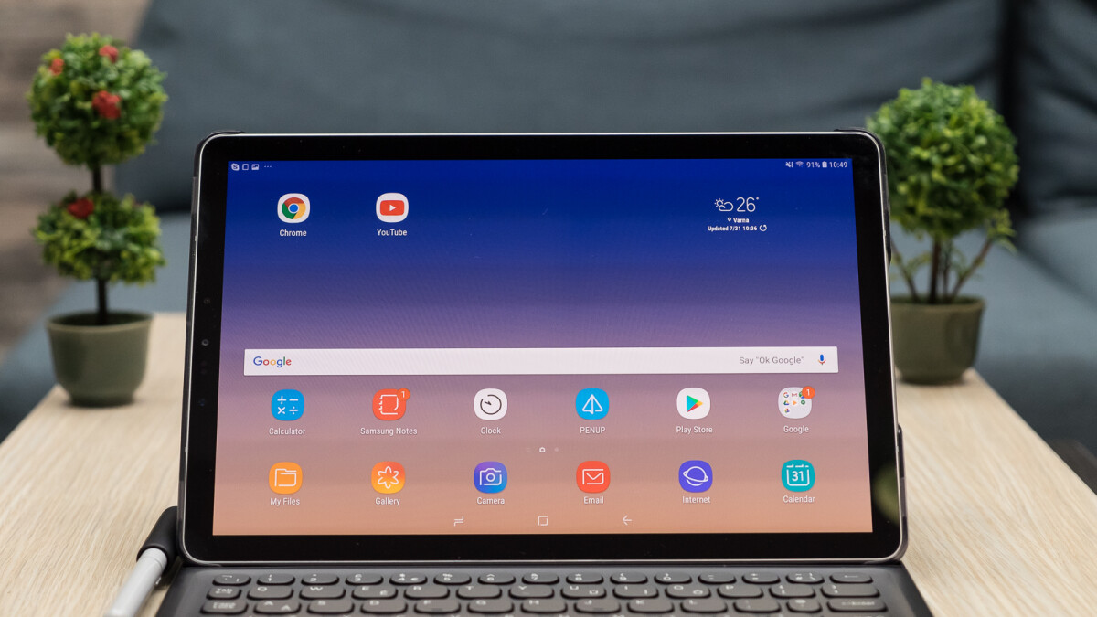 Samsung Galaxy Tab S4 goes official: slim bezels, gorgeous display, S Pen power