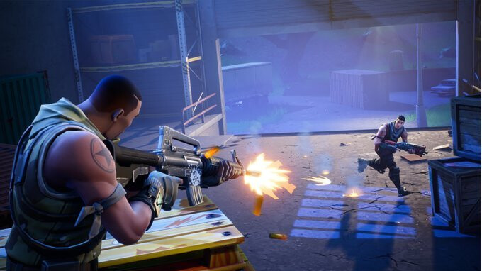 Do you play Fortnite on your iPhone at all?