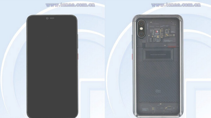 Mystery Xiaomi phone seen on regulatory website in China could be the Mi Note 4 with transparent back