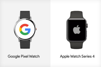 Google Pixel Watch vs Apple Watch Series 4: what we expect