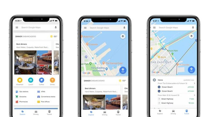 Google Maps for iOS gets new