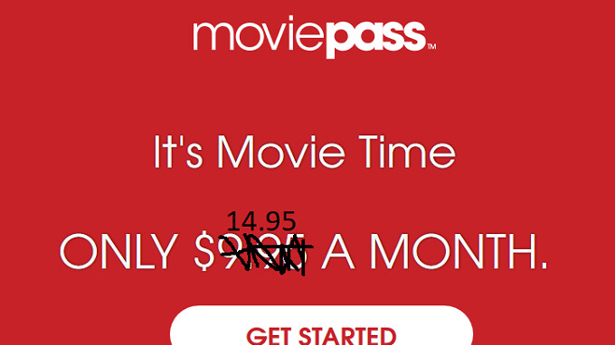 MoviePass to raise its price 50% to $14.95 a month and limit ticket availability to blockbusters