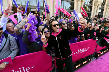 T-Mobile continued to grow faster than Verizon, AT&T and Sprint in the second quarter
