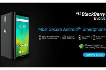 BlackBerry Evolve and Evolve X go official with trendy screens and reasonable prices
