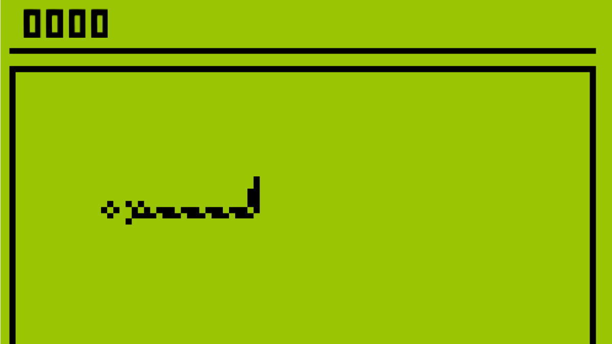 Nokia's classic Snake lives on as a Facebook live filter