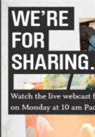 Microsoft is holding a live webcast for their event tomorrow