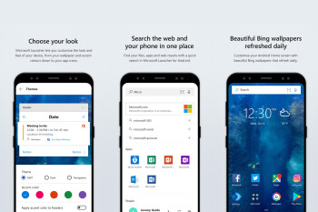 Microsoft Launcher gets icon swipe gestures in latest update