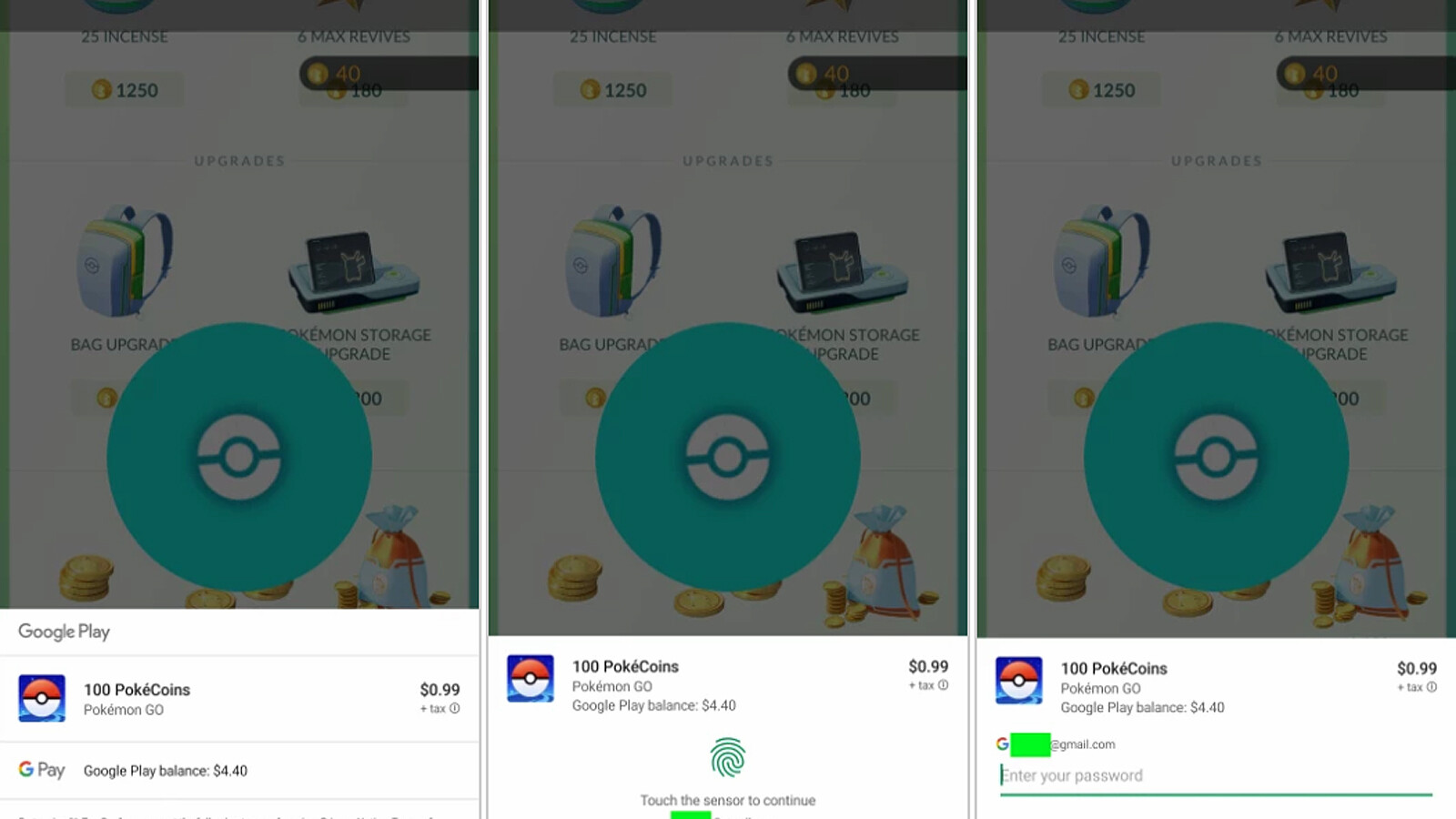 Die neue Benutzeroberfläche für die In-App-Kauf-Funktion von Google Play wird jetzt