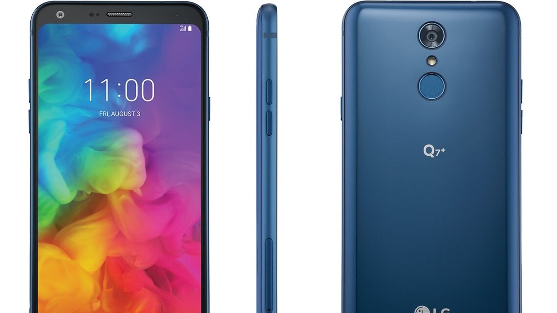 LG Q7+ starts selling at T-Mobile for a reasonable price with many premium features