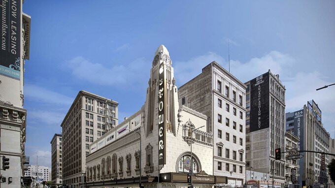 Apple plans to convert an iconic L.A. theater into the grandest of Apple Stores