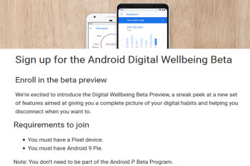 Pixel users can now sign up for Android's Digital Wellbeing beta app