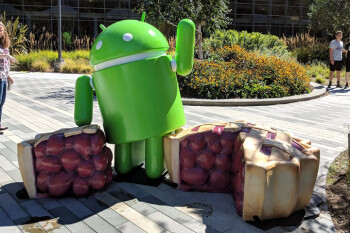 Google unveils the Android Pie statue; check out some of the new features in Android's latest build