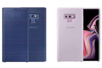 Samsung's official Note 9 cases are now priced and in stock
