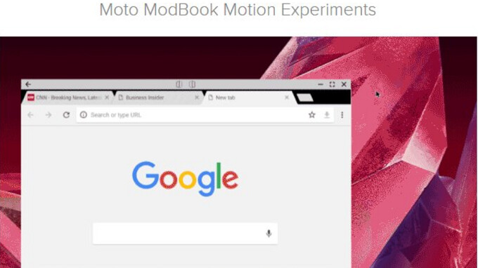 Is Lenovo planning a Motorola Lapdock Moto Mod for the Moto Z line?