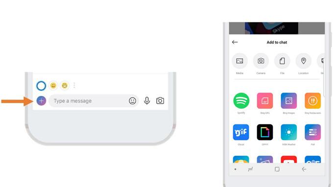 Skype, um die Funktion Spotify Add-In für seine mobile App