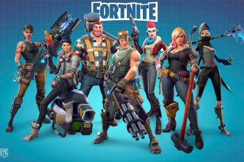 Here is a 5-minute Fortnite video showing gameplay on Android