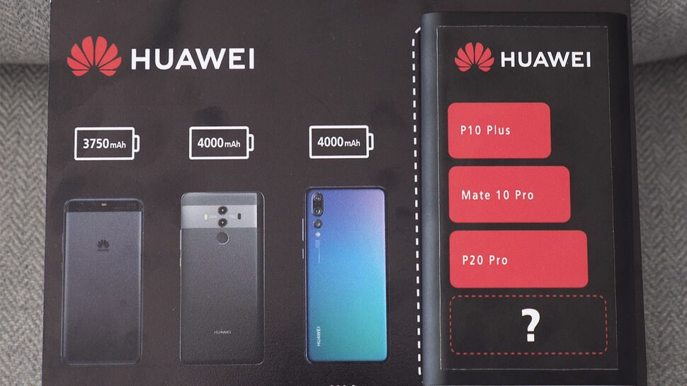 Huawei confirms Mate 20 Pro will have a bigger than 4,000 mAh battery